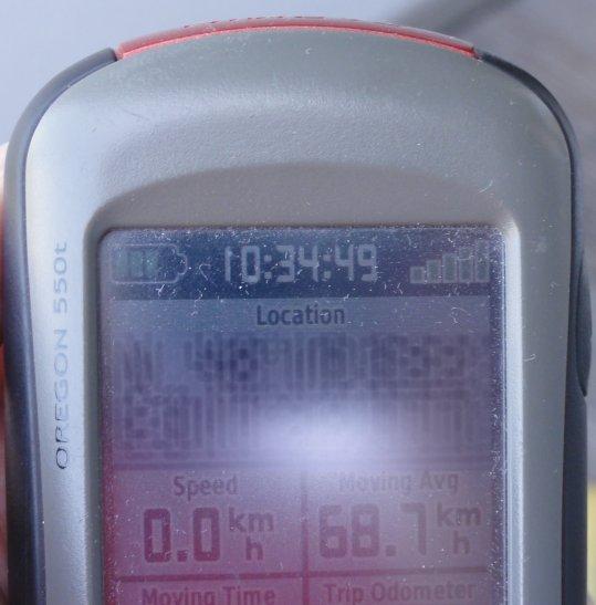 In den Metadaten der Kamera steht eine veraltete Position und Uhrzeit