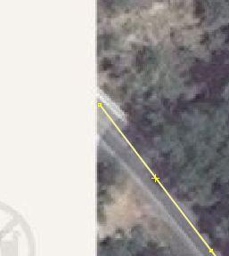 Eine Straße kann auch knapp innerhalb eines Luftbildes enden wenn es danach nicht weitergeht