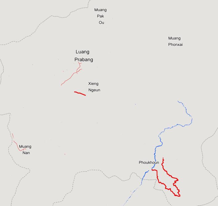 Auf der Karte sieht man deutlich wo bei OpenStreetMap noch Daten fehlen