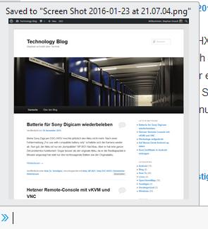 "Firefox fragt nach ""screenshot --fullpage"" wo die screenshots gespeichert werden sollen"